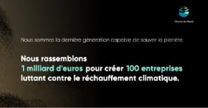Time for the planet - dérèglement climatique - plus2sens - relations presse