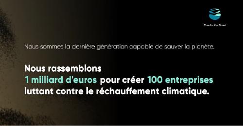 Time for the planet - dérèglement climatique - plus2sens - relations presse
